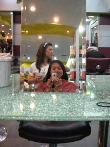 my hair washing too!